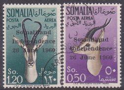 Somalia Scott C 68-691960 Independence Animals, Used - Somalie (AFIS)