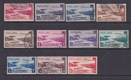 Somalia Scott C17-27 1950 Air Post Definitives, Used Set - Somalië (AFIS)