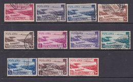 Somalia Scott C17-27 1950 Air Post Definitives, Used Set - Somalie (AFIS)