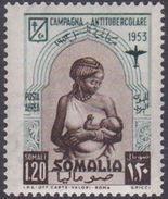 Somalia Scott C29 1953 Anti Tubercolosis Campaign, Mint Never Hinged - Somalia (AFIS)