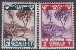 Somalia Scott C37-38 1954 Lepers Care Convention, Mint Never Hinged - Somalia (AFIS)