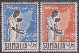 Somalia Scott C48-C49 1956 First Elected Legislative Assembly, Mint Never Hinged - Somalie (AFIS)