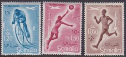 Somalia Scott C54-56 1957 Sports, Mint Never Hinged - Somalie (AFIS)