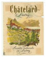Rare // Etiquette // Châtelard Sur Lutry, Société Viticole De Lutry, Vaud // Suisse - Etiquettes