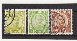 MAG1405  ISLAND 1921  Michl  99/01 Used / Gestempelt  ZÄHNUNG Siehe ABBILDUNG - 1918-1944 Unabhängige Verwaltung