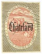 Rare // Etiquette // Châtelard, Société Viticole De Lutry, Vaud // Suisse - Etiquettes