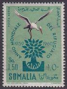 Somalia Scott C67 1960 World Refugee Year, Mint Never Hinged - Somalie (AFIS)