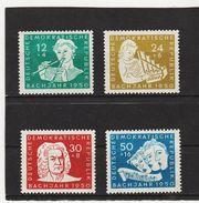 MAG1408 DDR 1950 MICHL 256/59  Postfrisch ** ZÄHNUNG Siehe ABBILDUNG - DDR