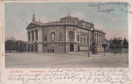 Laibach - Landestheater (8088) * 23. IX. 1905 - Slowenien