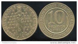 FRANCE 10  Francs  MILLENAIRE CAPETIEN  1987 - France