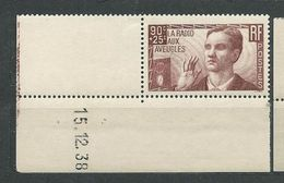 FRANCE    N° 418   **  TB  Gomme D'origine  4 - Unused Stamps