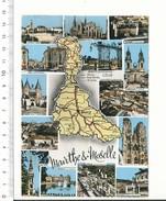 Département Meurthe-et-Moselle Longwy-Haut Briey Longwy Usines De Senelle Longuyon Carte Postale Géographique CP 68/39 - Maps