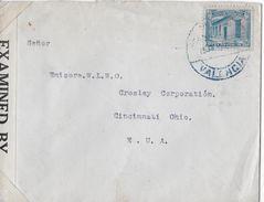 VENEZUELA → Censur Letter From Valencia Venezuela  To Cincinnati Ca. 1940 - Venezuela