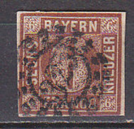 PGL CW339 - BAVIERE Yv N°5  ALT DEUTSCHLAND BAYERN Mi N°4 II - Bavière