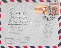 REPUBLICA DE VENEZUELA → Letter From Venezuela To Suiza 1957  ►POR AVION◄ - Venezuela