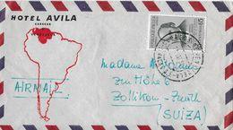 VENEZUELA → Letter From Caracas Venezuela Hotel Avila To Suiza 1951 ►VIA AIR MAIL◄ - Venezuela