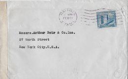 VENEZUELA → Letter From Bank Of London & South America Ca.1940 ►CENSUR◄ - Venezuela
