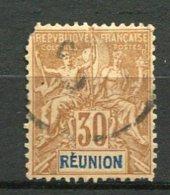 REUNION - Yv. N° 40  (o)  30c   Cote  13 Euros  D 2 Scans - Usados