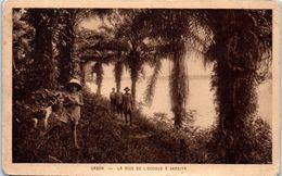 AFRIQUE -- GABON --  La Rive De L'Ogooé à Samkita - Gabon
