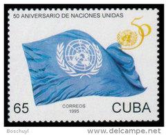 Cuba, 1995, United Nations 50th Anniversary, MNH, Michel 3851 - Cuba