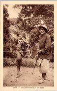 AFRIQUE -- GABON --  Vieillard Aveugle Et Son Guide - Gabon