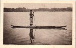 AFRIQUE -- GABON -- Sur L'Ogoque - Gabon