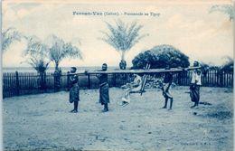 AFRIQUE -- GABON -- Fernan - Vaz - Promenade En Tipoy - Gabon