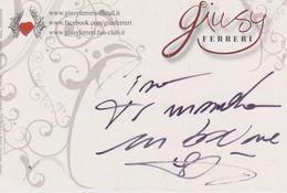 Autografo Giusy Ferreri (fronte E Retro) - Autografi