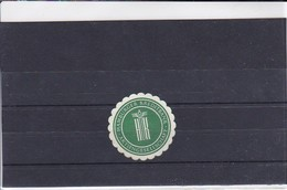 Siegelmarke - Hamburger Kreditbank Aktiengesellschaft (416) - Stempel & Siegel