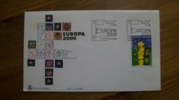 ANDORRA ESPAÑOLA.2000.FDC.Y&T-261 - Europa-CEPT