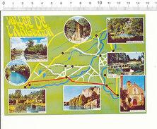 Vallée De L'Argenton Rivière Massais Argenton-Château Argenton-l'église Le Breuil Carte Postale Géographique CP 68/39 - Maps