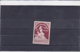 Reklamemarke Winkelried-Aufführungen 1901 (428) - Vignetten (Erinnophilie)