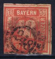 BAYERN:  Mi Nr 13 Obl./Gestempelt/used Cancel 248 - Bavière
