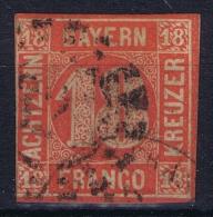 BAYERN:  Mi Nr 13 Obl./Gestempelt/used - Bavière