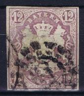 BAYERN:  Mi Nr 18 Obl./Gestempelt/used - Bavaria