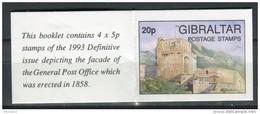 Gibraltar 1993. Yvert C 674 X 4. - Gibilterra