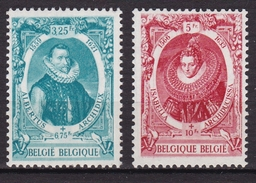 Belgique N° 581/582A Neuf ** - Belgique