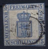Mecklenburg-Schwerin  Mi Nr 3 Obl./Gestempelt/used - Mecklenburg-Schwerin