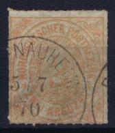 Norddeutscher Postbezirk  Mi Nr 8 Obl./Gestempelt/used 1868 - Conf. De L' All. Du Nord