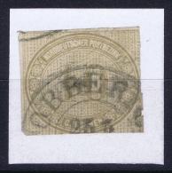 Norddeutscher Postbezirk  Mi Nr 25  Obl./Gestempelt/used - Conf. De L' All. Du Nord