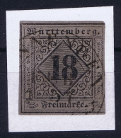 Württemberg Mi Nr 5  Obl./Gestempelt/used - Wurtemberg