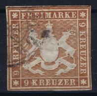 Württemberg Mi Nr 33 Obl./Gestempelt/used - Wuerttemberg