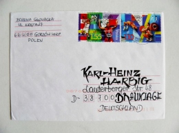 Cover From Poland Sport Olympic Games Sydney 2000 Weightlifting Fencing Wrestling Basketball - 1944-.... République