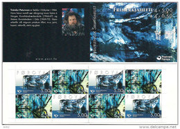 Faroe Islands Faroyar 2002 Norden Art, Mi 421-422 Booklet MNH(**) - Féroé (Iles)