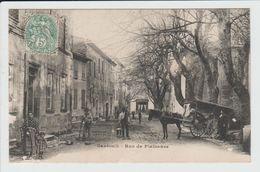 GAREOULT - VAR - RUE DE PLAISANCE - MARCHAND AMBULANT - France
