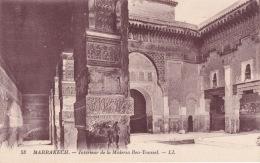 Marrakech Intérieur De La Médusa Ben Youssel LL - Marrakech