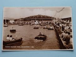 Marine Boating Pool ( 7348 ) Anno 1952 ( Zie Foto Voor Details ) !! - Folkestone