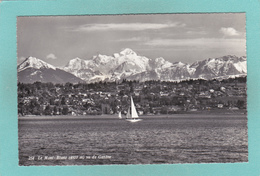 Old Post Card Of Le Mont-Blanc,Geneve,Geneva, Switzerland,Y62. - GE Ginevra