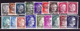 Deutsches Reich Ostland 1941. Deutsche Besetzung Estland, Lettland U.a. - Ocupación 1938 – 45