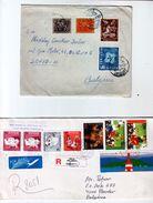Lot 2 Envelope / Cover   Portugal Traveled To Bulgaria (1962-1996 ) - 1910-... República